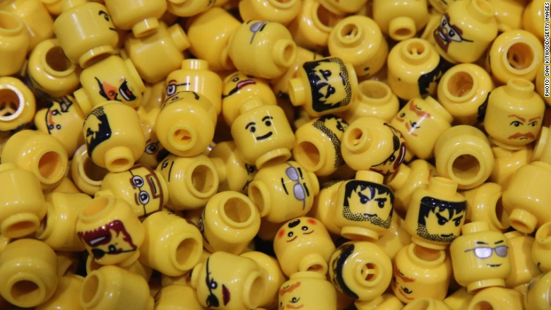lego figure heads