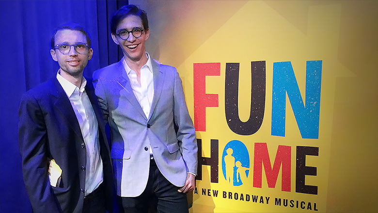 fun home opening night 2