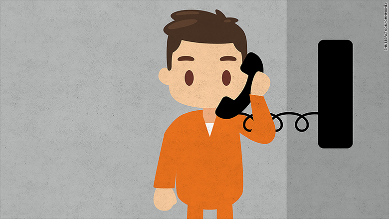 calls from prison