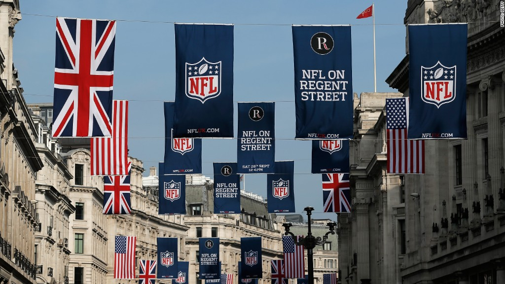 NFL on why it's live streaming London game