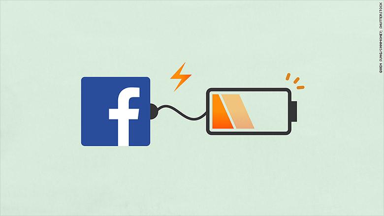 facebook battery drain