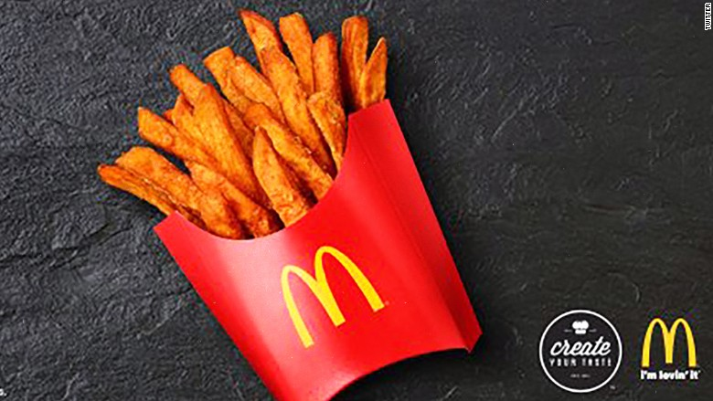 mcdonalds sweet potato fries