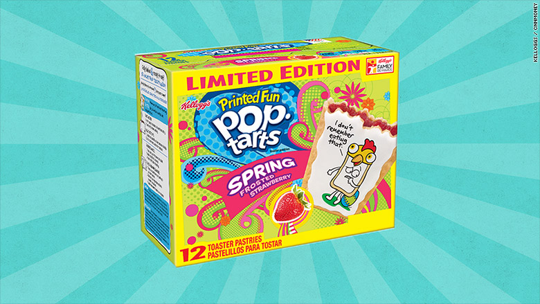 kelloggs pop tarts strawberry
