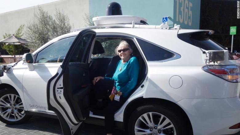 Google Olive car