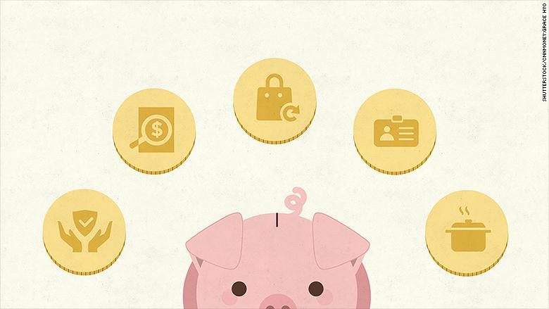 5 ways save money