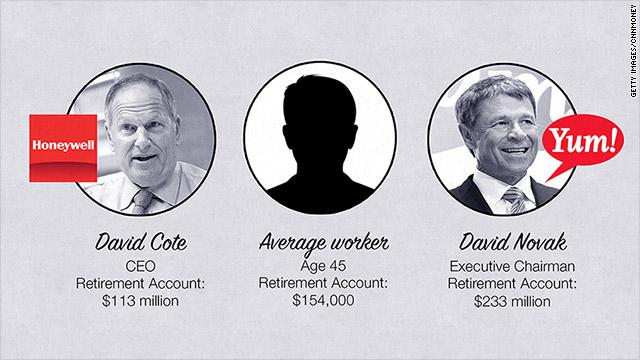 CEOs get retirement benefits you don't