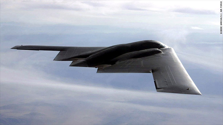 Stealth Bomber Win Lifts Northrop To All Time High