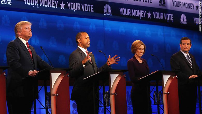 cnbc gop debate candidates 1