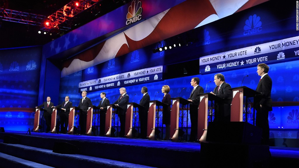 CNBC under fire for GOP debate