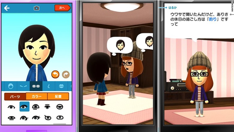 Nintendo's first smartphone app is a social surprise