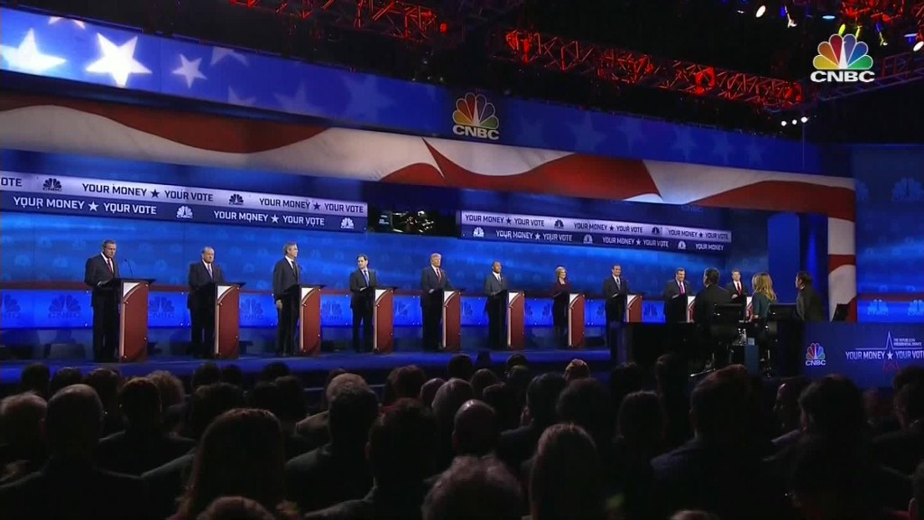 GOP fires more shots at 'big media' after debate