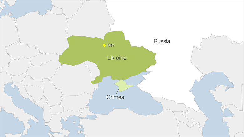 crimea russian control map