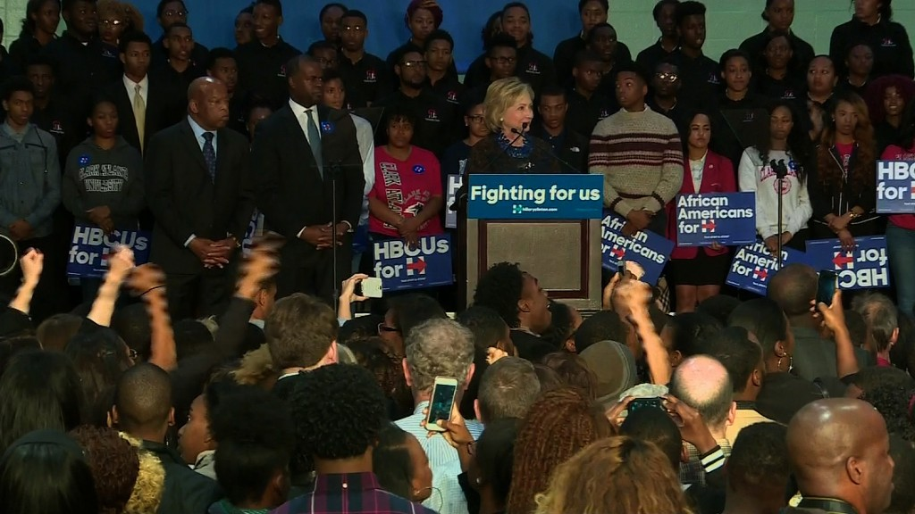 Black Lives Matter protest interrupts Clinton rally