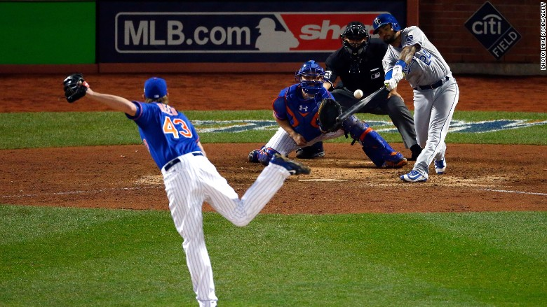 mets royals world series game 5