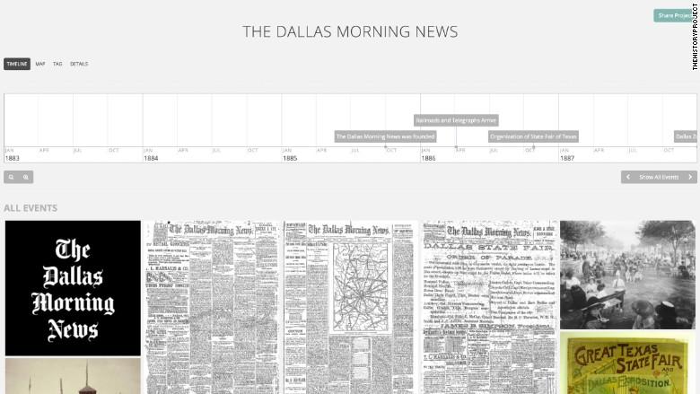 dallas timeline