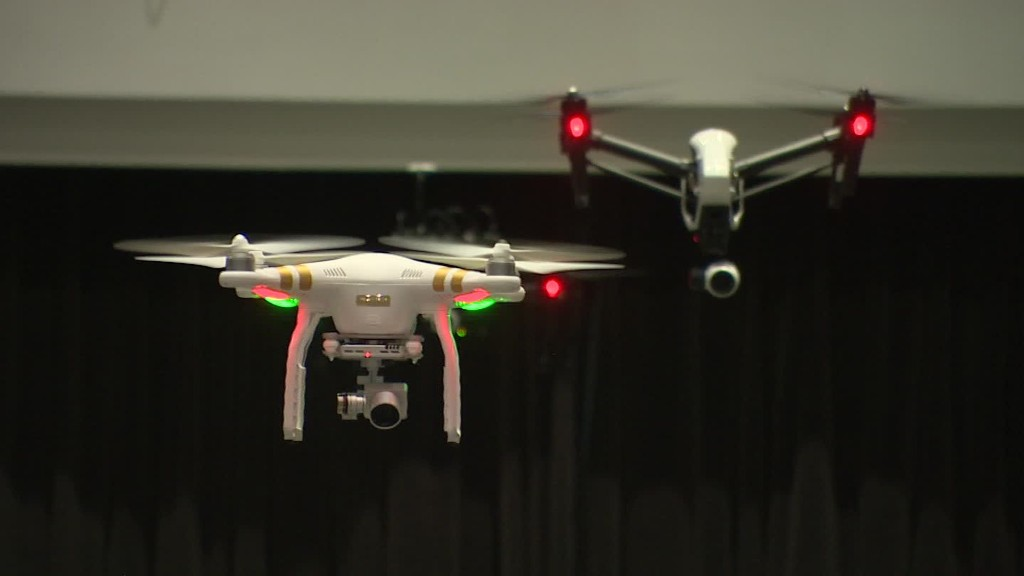 Inside the world's leading drone maker