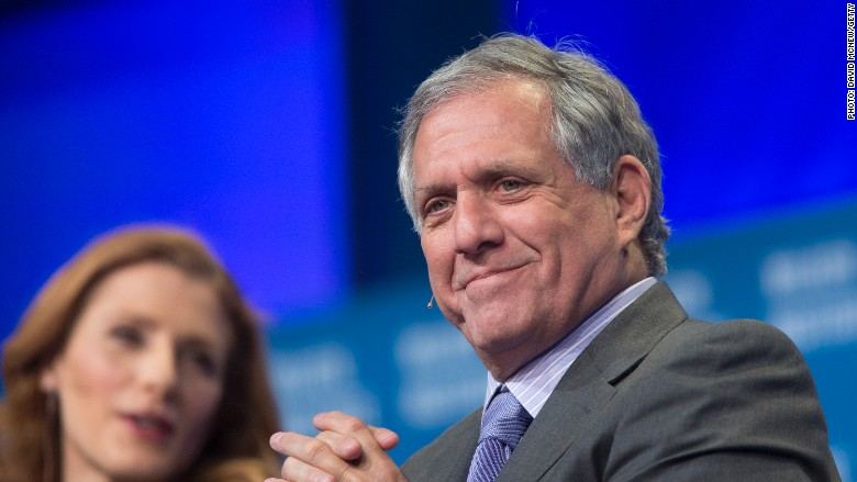 les moonves cbs ceo