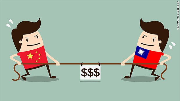 Trade has turned China and Taiwan into 'frenemies'
