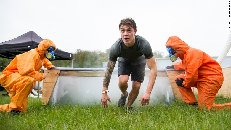tough mudder smoke