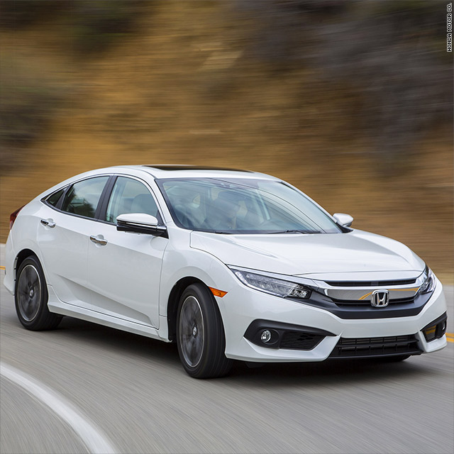Overall Best And Small Car Honda Civic