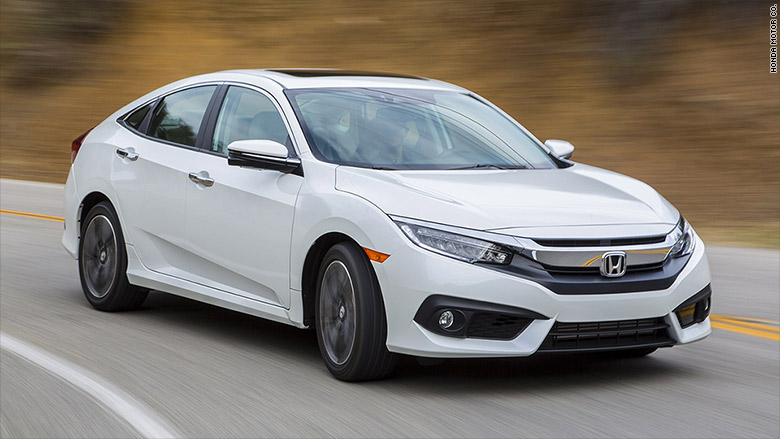 Honda Civic Wins 2016 Car Of The Year Award