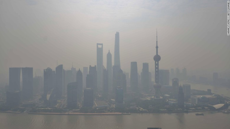 china smog climate change shanghai
