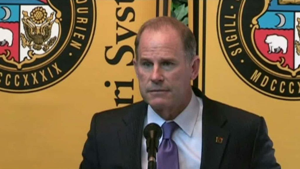 Mizzou president steps down amidst racism controversy
