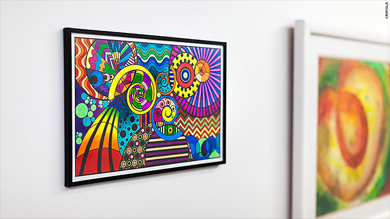 Crayola Adult Coloring Book Art