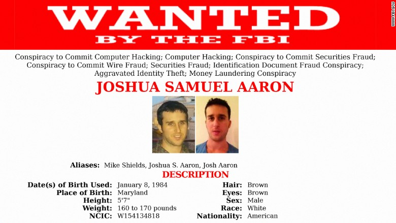joshua aaron wanted