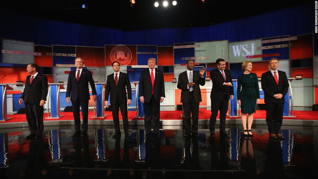 GOP debate: a money reality check