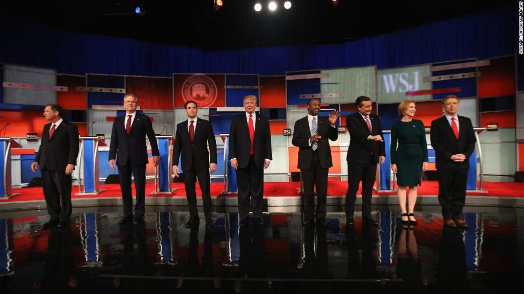 GOP debate: a money reality check