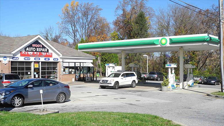 ellicot city gas station