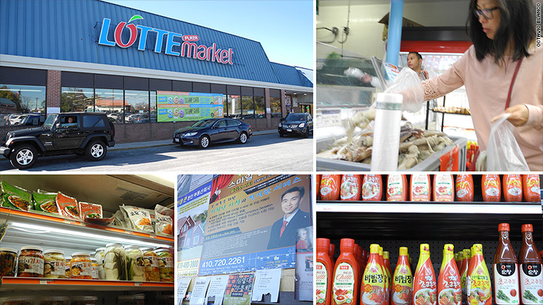 elilicot city lotte market collage