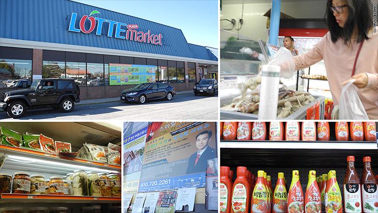 elilicot city lotte market collage