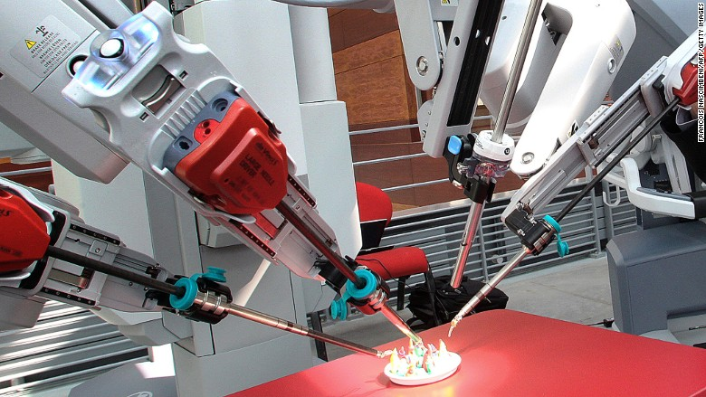 Intuitive Surgical medical robot