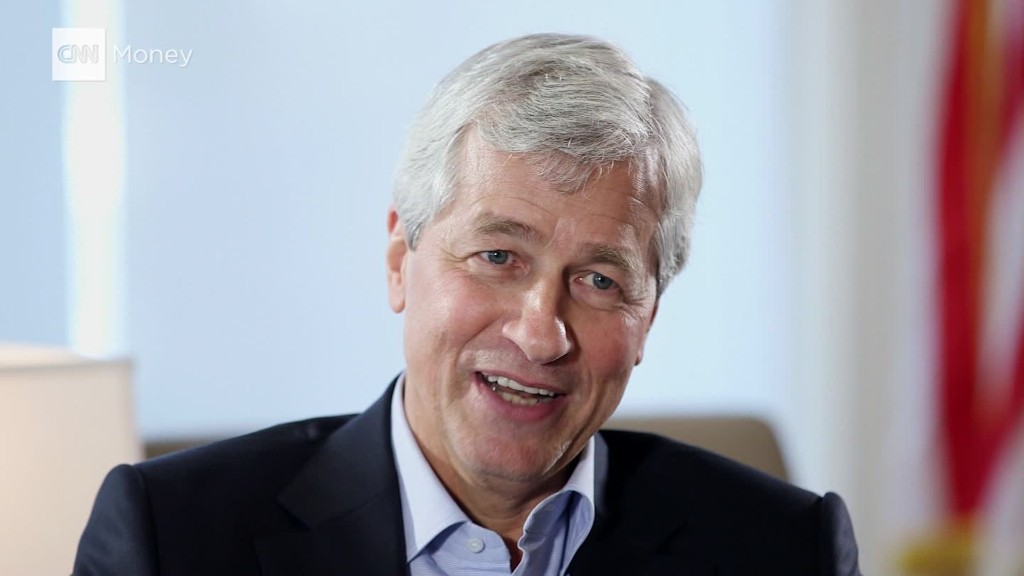 Dimon on the stresses of Wall Street