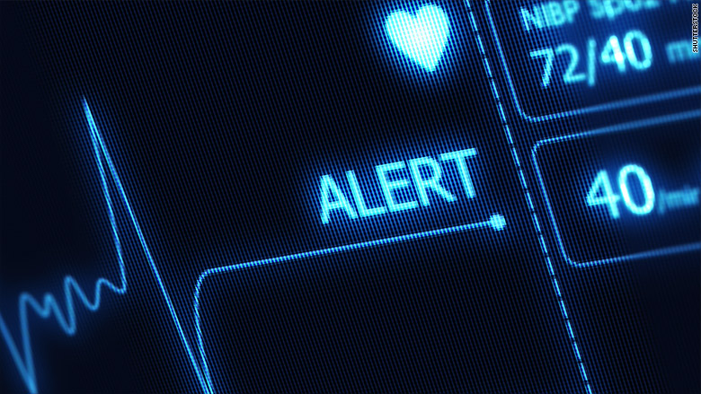 heart monitor alert