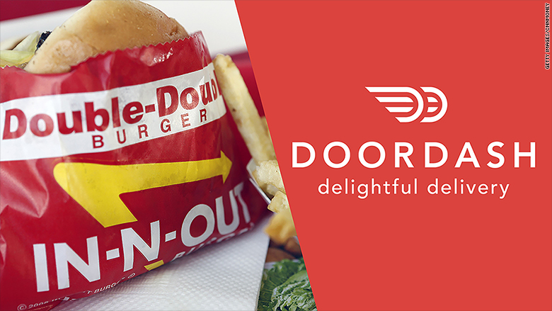 in n out-doordash