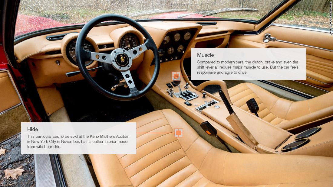 Major Muscle Lamborghini Miura Driving The Most