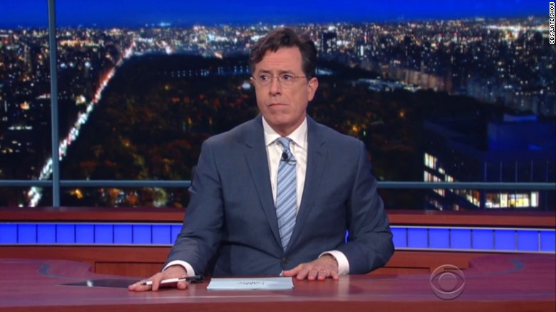 stephen colbert paris attacks