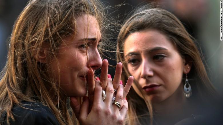 paris attacks grief