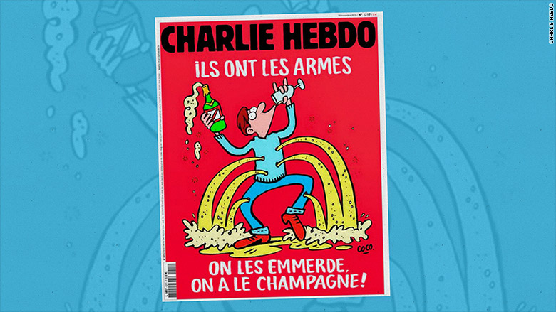 charlie hebdo cover full text