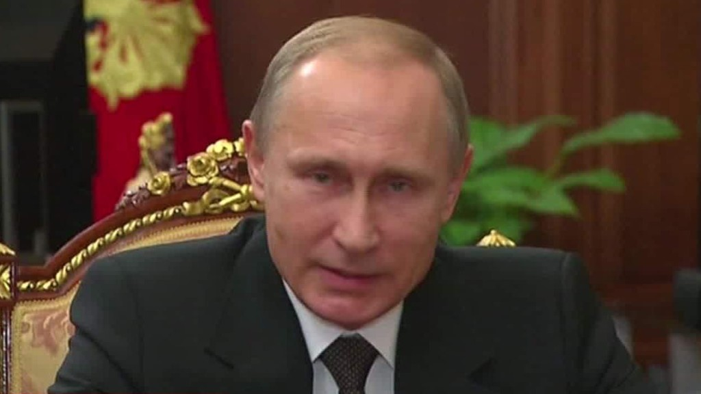 Vladimir Putin: 'Revenge is unavoidable'