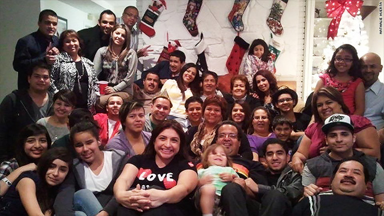 nathalie huerta family christmas