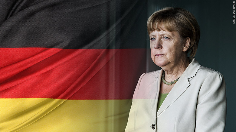 german bonds merkel