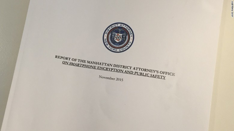 encryption report