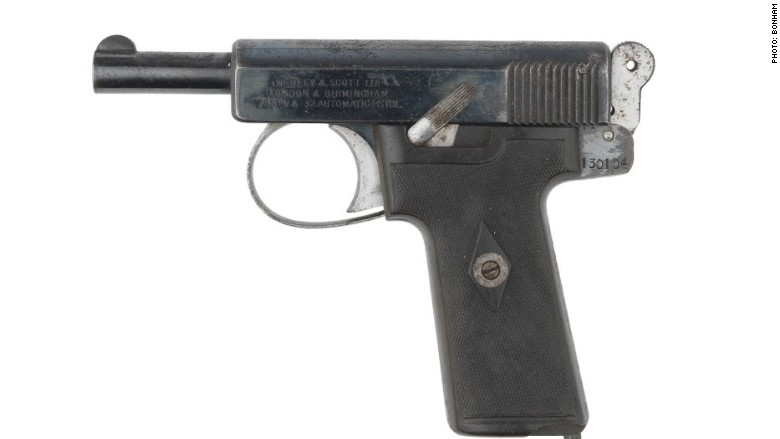 Churchill pistol auction Bonhams