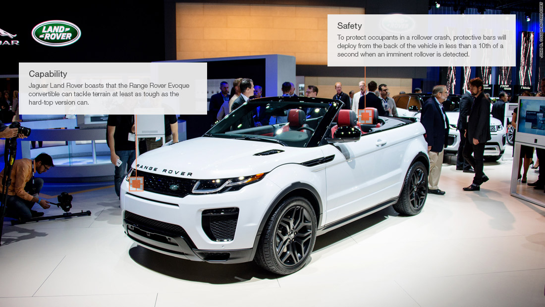 Range Rover Evoque Convertible Cool Cars From The Los - When is the la car show