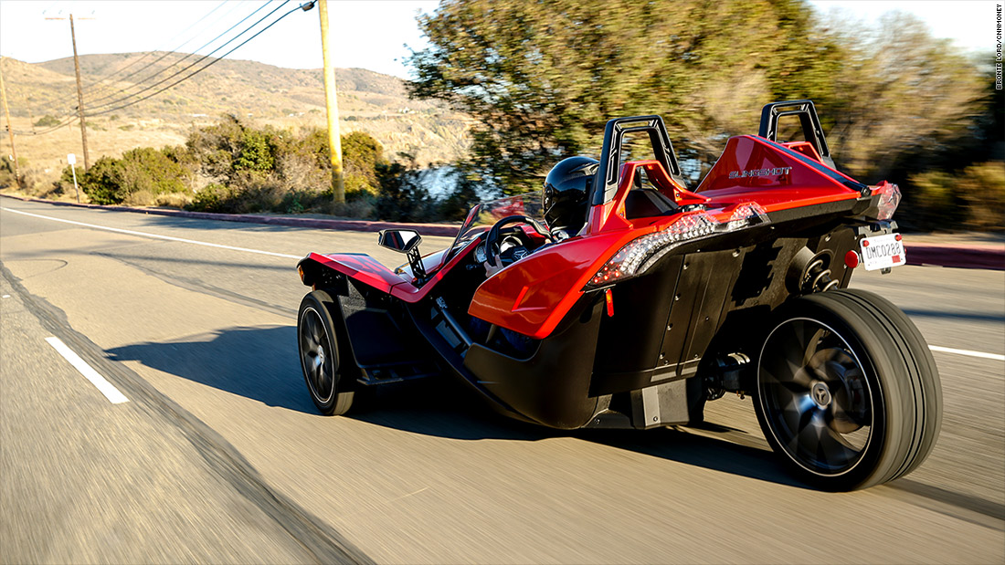 Polaris Slingshot Tech Slingshot Is A Three Wheeled
