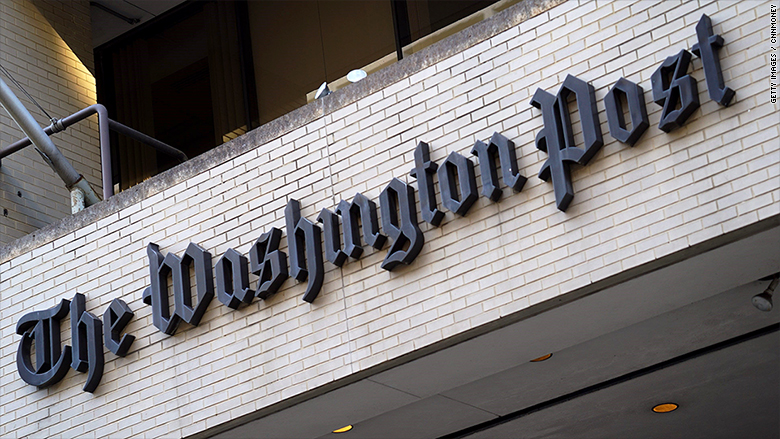 the washington post exterior